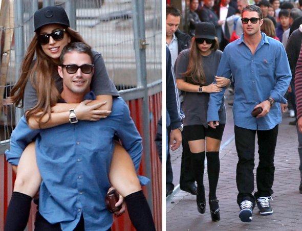 Lady Gaga passa mal e vomita em passeio com namorado