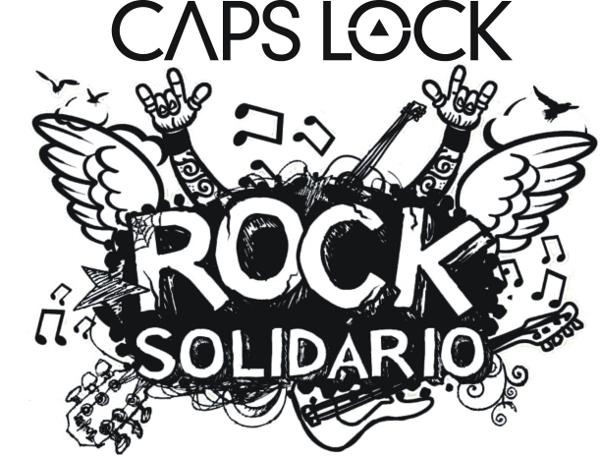 Rock Solidário - Caps Lock
