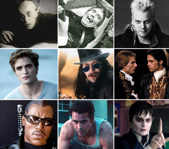 Os vampiros mais famosos do cinema