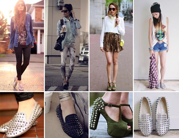 Os spikes são tendência para o verão 2013. Aprenda a usar!