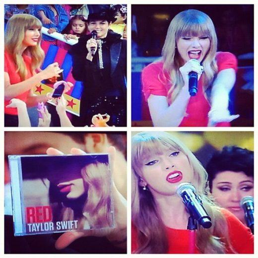 "Taylor Swift participa do programa ""TV Xuxa"""
