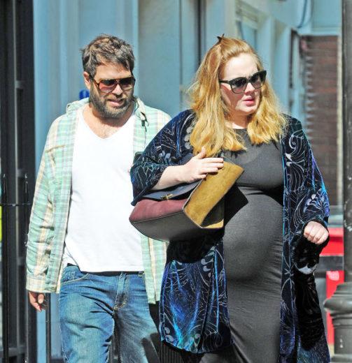 Nasceu! Adele deu à luz seu primeiro filho *-*
