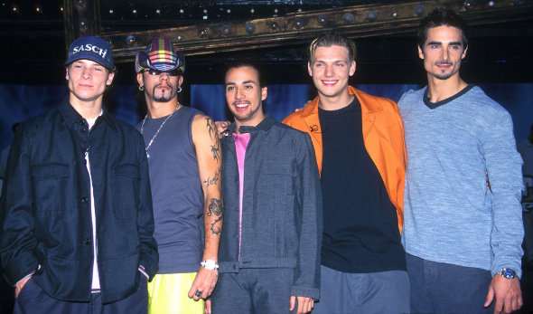 Backstreet Boys cantando