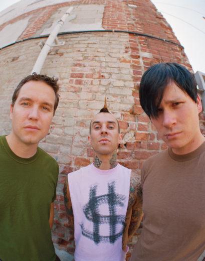Integrantes da Blink 182 juntos