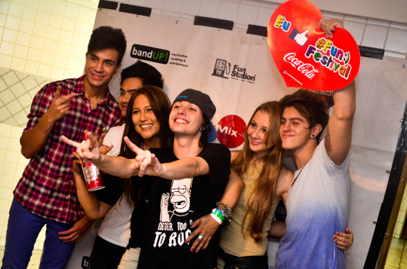 Restart no Coca Cola Fun Festival