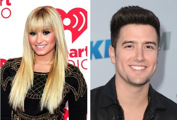 Demi Lovato pode estar namorando integrante do Big Time Rush!
