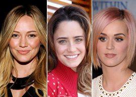 Mechas 3D - o que são e como fazer - Hilary Duff, Fernanda Vasconcellos e Katy Perry