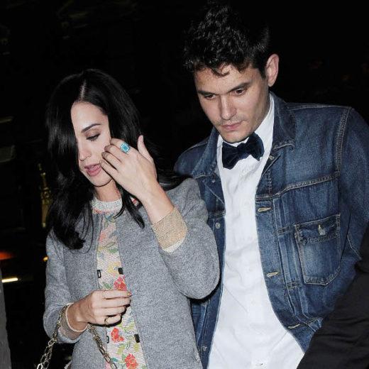 Juntos de novo: John Mayer comemora aniversário com Katy Perry