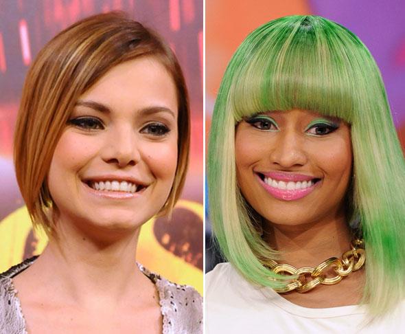 Mechas 3D - o que são e como fazer - Milena Toscano e Nicki Minaj