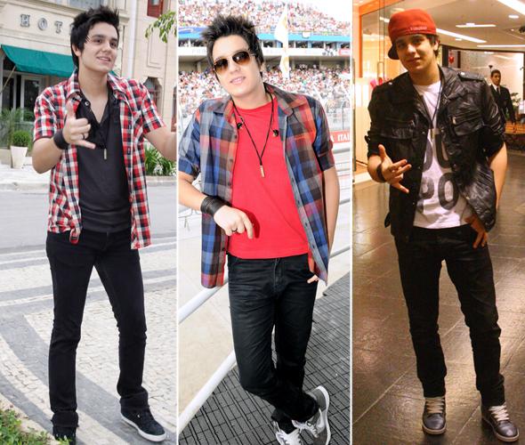 O estilo de garotos famosos - Luan Santana