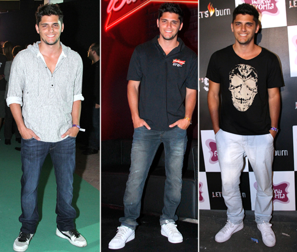 O estilo de garotos famosos - Bruno Gissoni