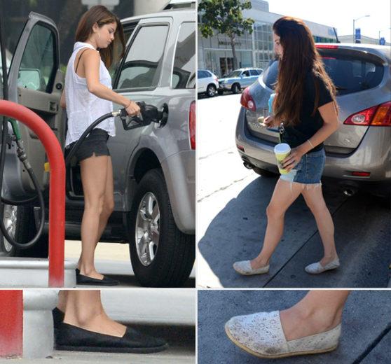 Como usar alpargatas - Selena Gomez, Lana Del Rey