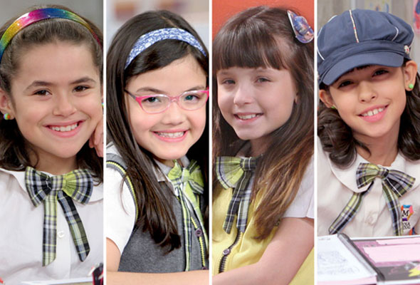 Qual das garotas de Carrossel você é? - Valéria, Carmen, Maria Joaquina e Alicia