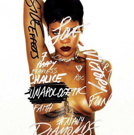 """Capa do próximo álbum de Rihanna, """"Unapologetic"""""""
