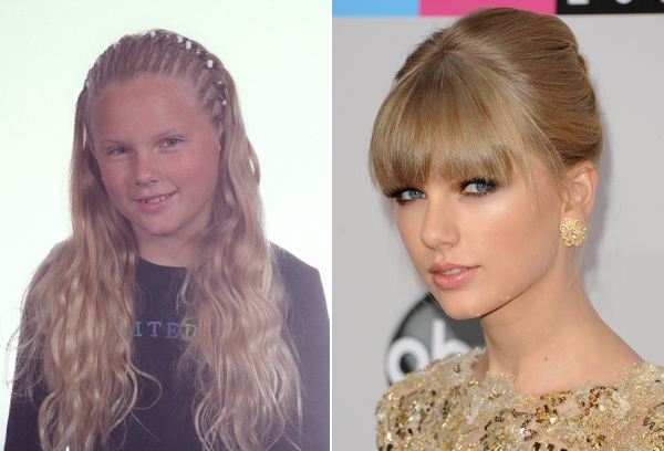 Taylo Swift - Antes e Depois