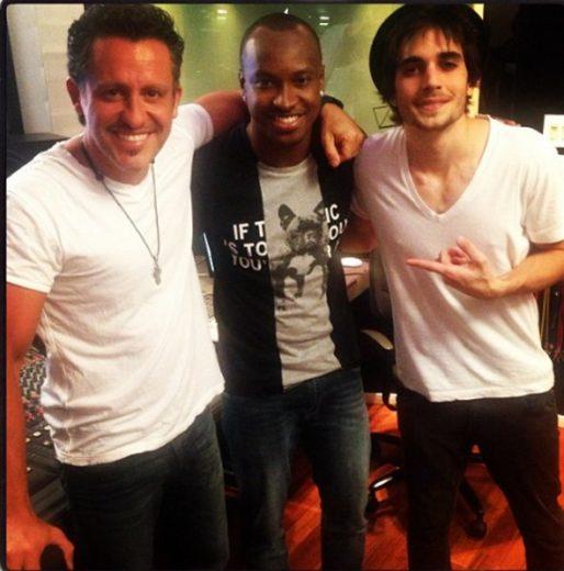 Rick Bonadio, Thiaguinho e Fiuk