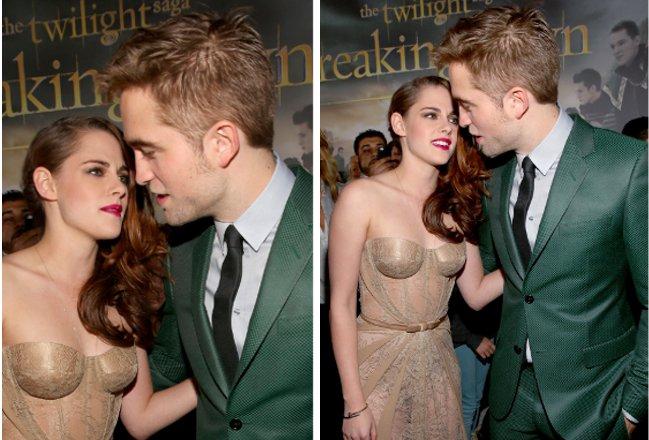 Kristen Stewart e Robert Pattinson posam juntos pela primeira vez!