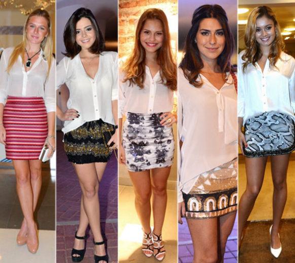 As tendências do verão 2013 - atrizes com camisa
