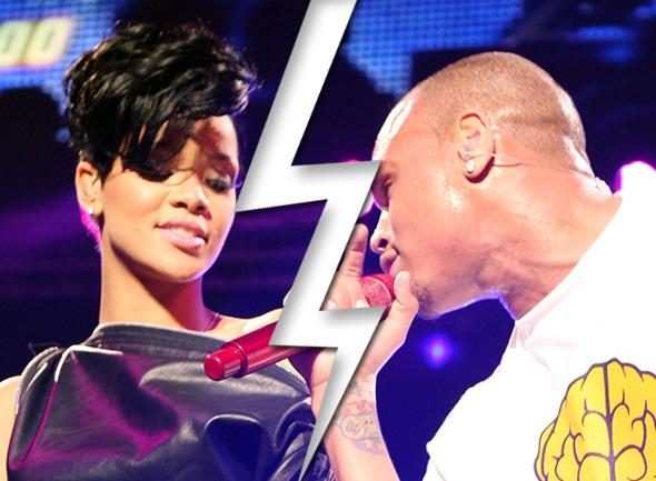 Rihanna e Chris Brown terminam namoro de novo - Rihanna e Chris Brown