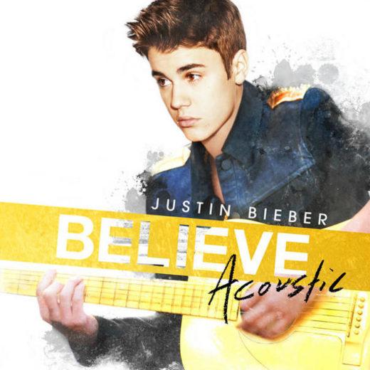"Justin Bieber divulga capa de ""Believe Acustic"""