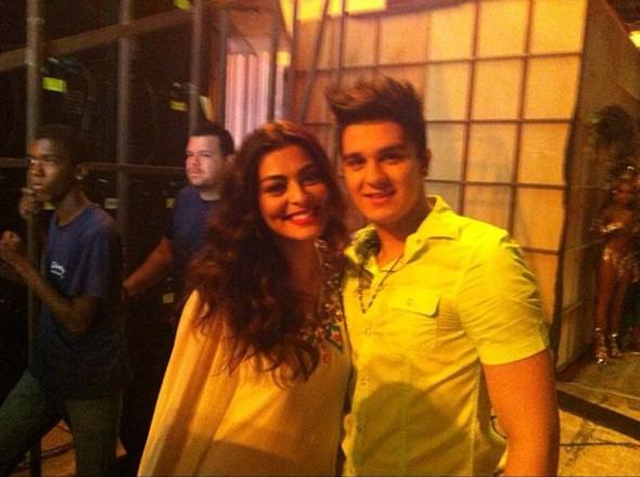 Juliana Paes e Luan Santana