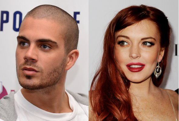 Max George, do The Wanted, nega affair com Lindsay Lohan