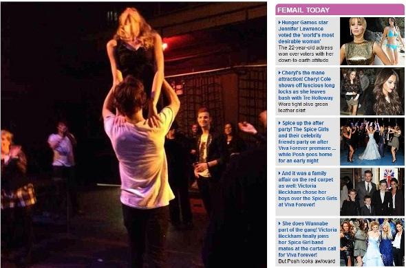 "Taylor Swift e Harry Styles fazem performance de ""Dirty Dancing"""