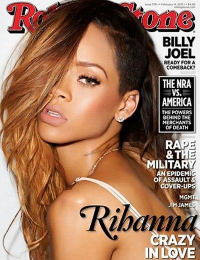 Rihanna assume que voltou com Chris Brown-materia