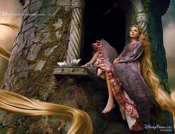 Taylor Swift vira Rapunzel para Disney