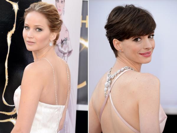 Anne e Jen no Oscar 2013