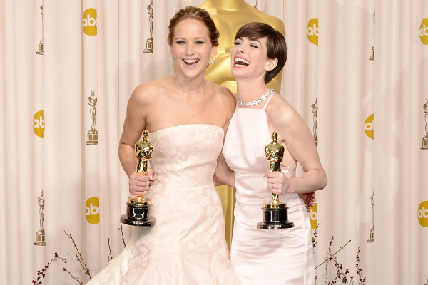 Jennifer e Anne no Oscar 2013