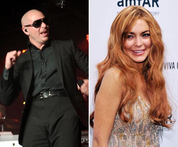 Pitbull vence Lindsay Lohan nos tribunais-materia