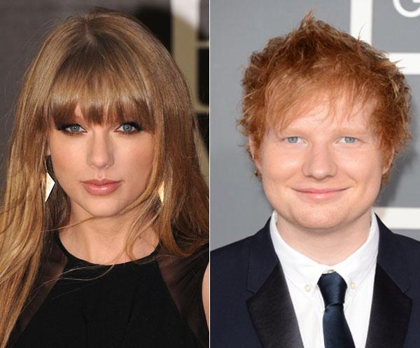 Taylor Swift e Ed Sheeran