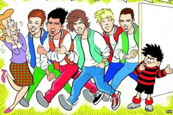 One Direction vira personagem de quadrinhos-materia
