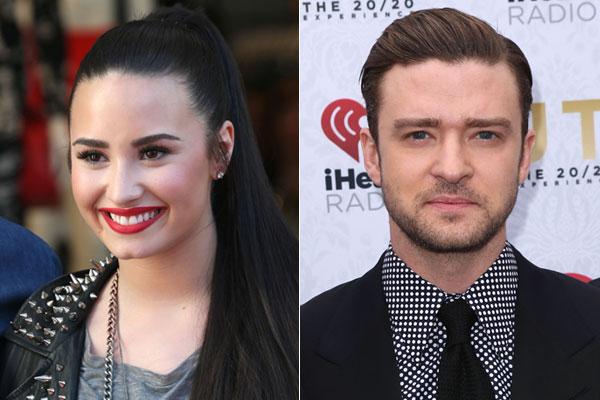 Demi Lovato e Justin Timberlake