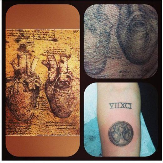 tatuagem Miley Cyrus