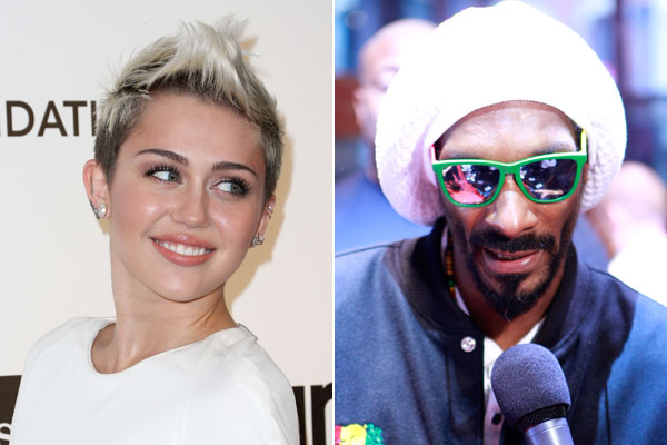 Miley Cyrus e Snoop Lion