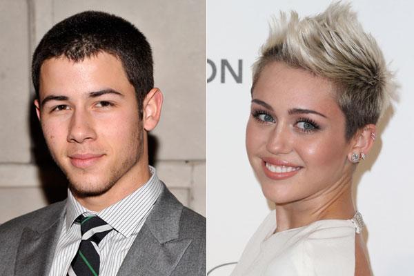 Nick Jonas e Miley Cyrus