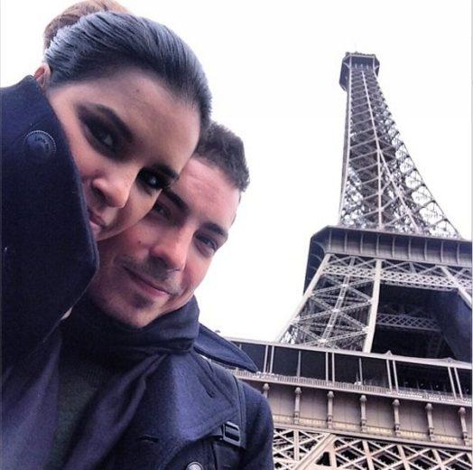 Di Ferrero e Mariana Rios na Torre Eiffel