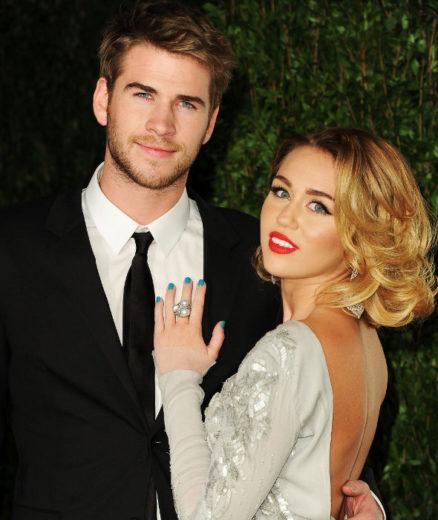 LMiley Cyrus e Liam Hemsworth