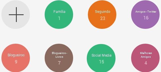 Círculos - Google Plus