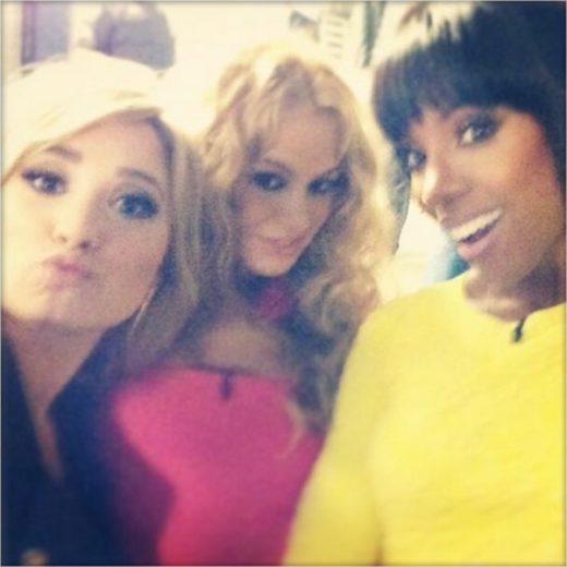 Demi Lovato, Paulina Rubio e Kelly Rowland