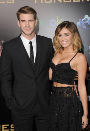 Miley e Liam