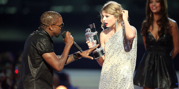 Taylor Swift and Kanye West-slider