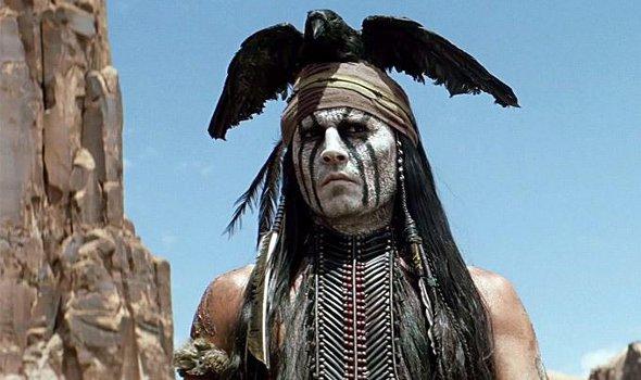 Filme O Cavaleiro Solitário, Johnny Depp