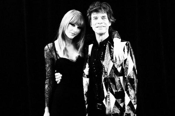 Taylor Swift e Mick Jagger