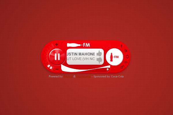 Player Coca Cola FM