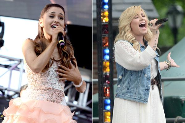 Demi Lovato e Ariana Grande