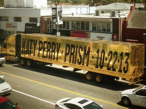 caminhão de Katy Perry