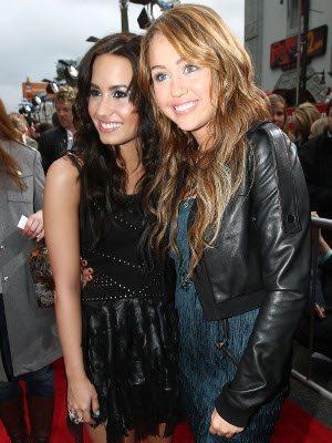 Demi Lovato e Miley Cyrus